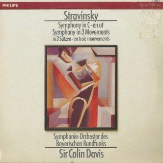 ストラヴィンスキー:3楽章の交響曲,交響曲ハ長調