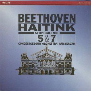 ベートーヴェン:交響曲5番Op.67「運命」,7番Op.92
