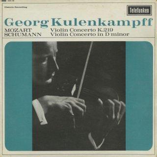 モーツァルト:ヴァイオリン協奏曲5番K.219「トルコ風」,シューマン:ヴァイオリン協奏曲