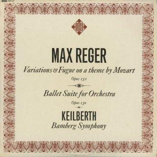 レーガー:モーツァルト変奏曲Op.132,舞踊組曲Op.130