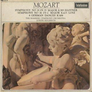 モーツァルト:交響曲35番K.385「ハフナー」,36番K.425「リンツ」,6つのドイツ舞曲K.509