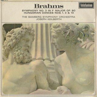 ブラームス:交響曲3番Op.90,ハンガリー舞曲1,3,10番