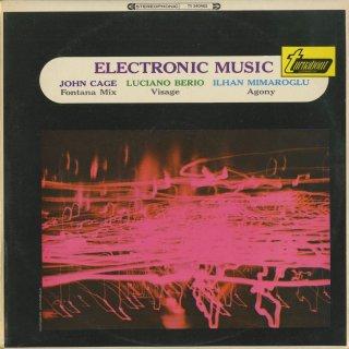 「電子音楽」ベリオ:Visage,ケージ:Fonata Mix,ミマールオール:Agony