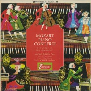 モーツァルト:ピアノ協奏曲25番K.503,27番K.595