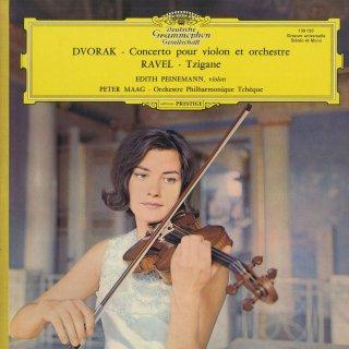 ドヴォルザーク:ヴァイオリン協奏曲Op.53,ラヴェル:ツィガーヌ