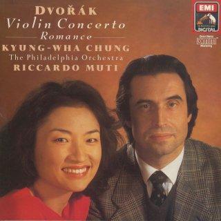 ドヴォルザーク:ヴァイオリン協奏曲Op.53,ロマンスOp.11