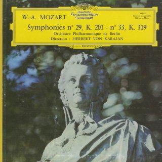 モーツァルト:交響曲29番K.201,33番K.319