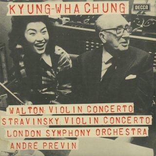ヴァイオリン協奏曲集/ウォルトン,ストラヴィンスキー