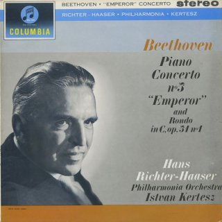 ベートーヴェン:ピアノ協奏曲5番Op.73「皇帝」,ロンドOp.51−1