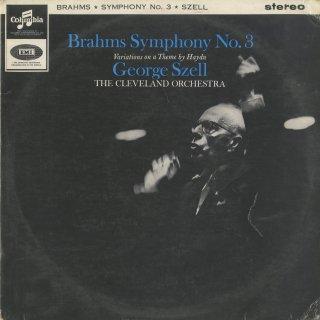 ブラームス:交響曲3番Op.90,ハイドンの主題による変奏曲Op.56a
