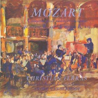 モーツァルト:ヴァイオリン協奏曲4番K.218,5番K.219