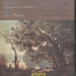 シューベルト:交響曲8番「未完成」,リスト:交響詩「前奏曲」