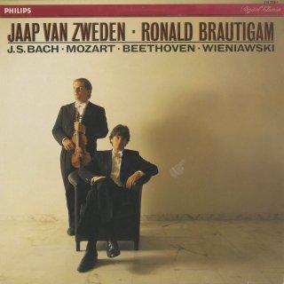 モーツァルト:ヴァイオリン・ソナタK.304,バッハ:シャコンヌ,ベートーヴェン:ヴァイオリン・ソナタ8番Op.30−3,ヴィエニャフスキー:スケルツォ・タランテラOp.16
