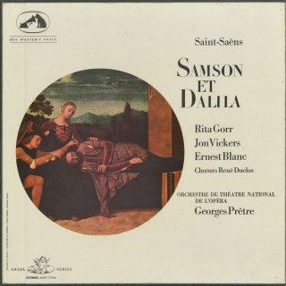 サン・サーンス:サムソンとデリラ(全曲)