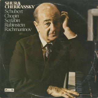 シューベルト:ピアノ・ソナタ13番,ショパン:前奏曲(8曲),夜想曲,スクリャービン,ラフマニノフ,ルビンシュタイン