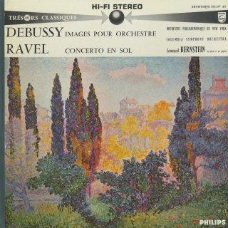 ドビュッシー:管弦楽のための映像,ラヴェル:ピアノ協奏曲