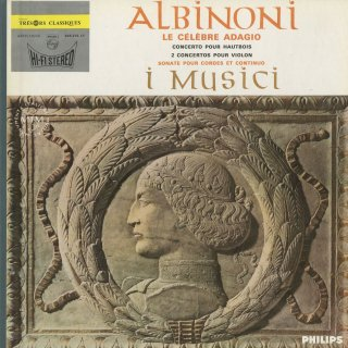 アルビノーニ:アダージョ,オーボエ協奏曲Op.9−2,ソナタOp.2−6,ヴァイオリン協奏曲Op.9−4,10(2曲)