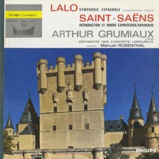 ラロ:スペイン交響曲Op.21,サン・サーンス:序奏とロンド・カプリチョーソOp.28,ハバネラOp.83