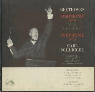 ベートーヴェン:交響曲9番Op.125「合唱」,5番Op.67「運命」