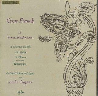 「フランク:4つの交響詩」のろわれた狩人,アイオロスの人々,魔神,贖罪