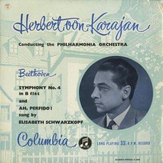 ベートーヴェン:交響曲4番Op.60,「ああ、不実なる人よ」Op.65