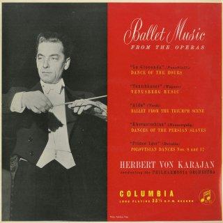 オペラ・バレエ音楽集/時の踊り,韃靼人の踊り,アイーダ,ホヴァーンシチナ,タンホイザーより