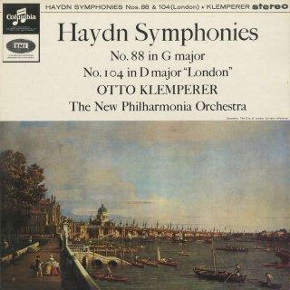 ハイドン:交響曲88番,104番「ロンドン」