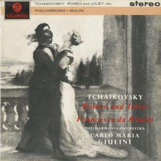 チャイコフスキー:幻想的序曲「ロメオとジュリエット」,幻想曲「フランチェスカ・ダ・リミニ」