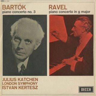 ピアノ協奏曲集/ラヴェル,バルトーク:3番