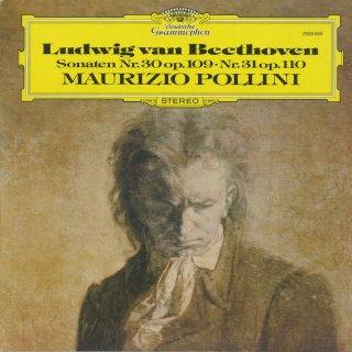 ベートーヴェン:ピアノ・ソナタ30番Op.109,31番Op.110