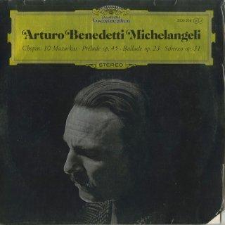 ショパン:マズルカ(10曲),前奏曲Op.45,バラード1番Op.23,スケルツォ2番Op.31