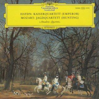 モーツァルト:弦楽四重奏曲17番K.458「狩」,ハイドン:弦楽四重奏曲77番Op.76−3「皇帝」