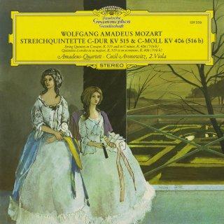 モーツァルト:弦楽五重奏曲3番K.515,2番K.406