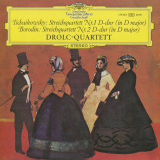 弦楽四重奏曲集/チャイコフスキー:1番Op.11,ボロディン:2番