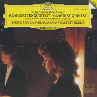 モーツァルト:クラリネット五重奏曲K.581,キュフナー(伝ウェーバー):序奏と主題と変奏
