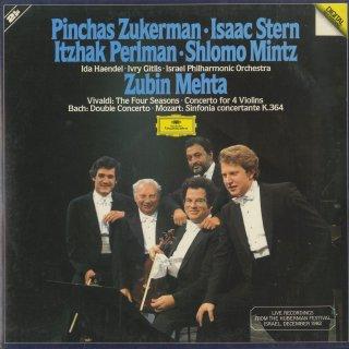 ヴィヴァルディ:「四季」,4つのヴァイオリンのための協奏曲Op.3-10,バッハ:2つのヴァイオリンのための協奏曲BWV.1043,モーツァルト:協奏交響曲K.364