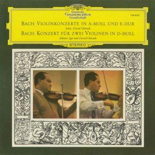 バッハ:ヴァイオリン協奏曲BWV.1041,1042,2つのヴァイオリンのための協奏曲BWV.1043