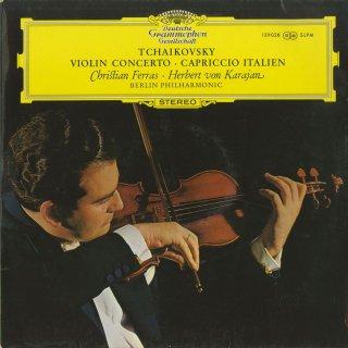 チャイコフスキー:ヴァイオリン協奏曲Op.35,イタリア奇想曲