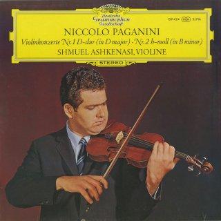 パガニーニ:ヴァイオリン協奏曲1番Op.6,2番Op.7