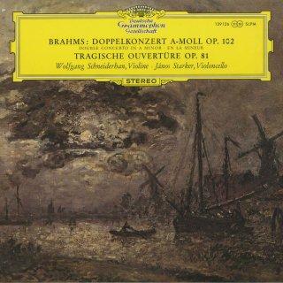 ブラームス:ヴァイオリンとチェロのための二重協奏曲Op.102,悲劇的序曲Op.81