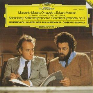 マンツォーニ:ミサ「エドガー・ヴァーレーズ賛」,シェーンベルク:室内交響曲1番Op.9