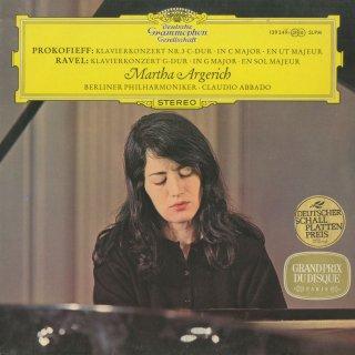 ピアノ協奏曲集/プロコフィエフ:3番Op.26,ラヴェル