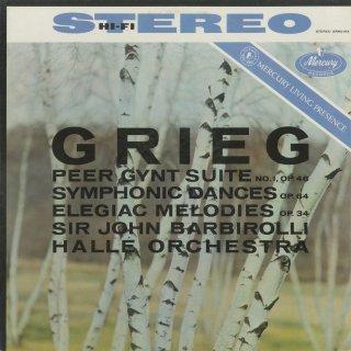グリーグ:ペール・ギュント第一組曲Op.46,4つの交響的舞曲Op.64,2つの悲しい旋律Op.34