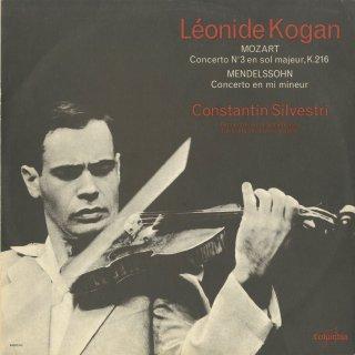 モーツァルト:ヴァイオリン協奏曲3番K.216,メンデルスゾーン:ヴァイオリン協奏曲Op.64
