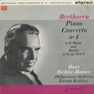 ベートーヴェン:ピアノ協奏曲4番Op.58,ロンドOp.51−2