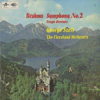 ブラームス:交響曲2番Op.73,悲劇的序曲Op.81