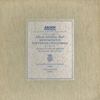 バッハ:ヴァイオリン・ソナタ(全6曲)BWV.1014〜1019