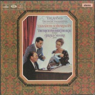 ブラームス:ドイツ民謡集(42曲)