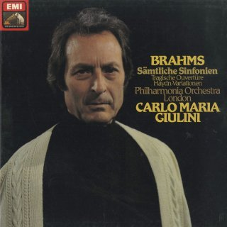 ブラームス:交響曲全集(4曲),ハイドン変奏曲Op.56a,悲劇的序曲Op.81