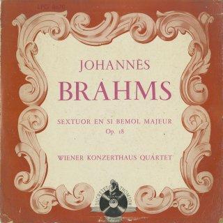 ブラームス:弦楽六重奏曲1番Op.18